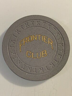 FRONTIER CLUB ROULETTE Casino Chip Las Vegas Nevada 3.99 Shipping
