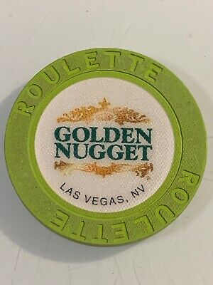 GOLDEN NUGGET ROULETTE Casino Chip Las Vegas Nevada 3.99 Shipping