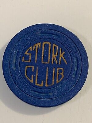 RARE 1947 STORK CLUB $25 Casino Chip Las Vegas Nevada 3.99 Shipping