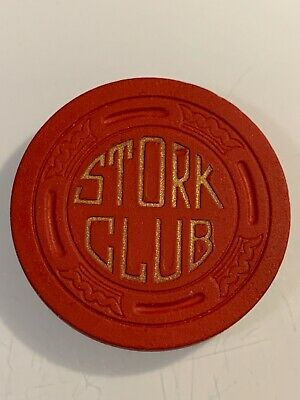 RARE 1947 STORK CLUB $5 Casino Chip Las Vegas Nevada 3.99 Shipping