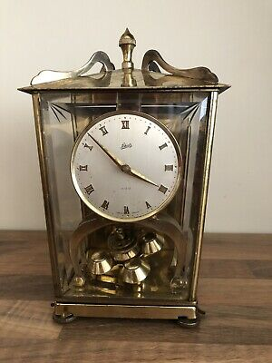 Vintage Schatz Ball Pendulum Mechanical Clock Made Germany Spares Repairs