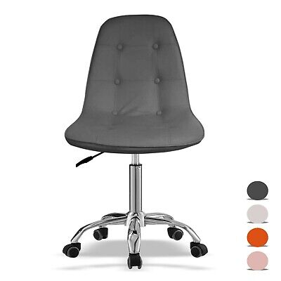 Cushioned Office Chair Small Adjustable Computer Desk Chair Home Swivel Chair