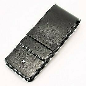 MONTBLANC [Mont Blanc] Pen Pouch 30303 black for three