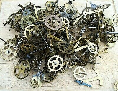 Very Large Selection of  Clock Pinions, Wheels,  etc. steam punk