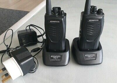 2x Kenwood KSC 31 Chargers And  2x Radio Station