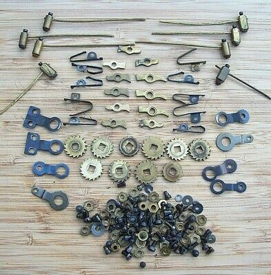 Large Selection of Clock Ratchet Wheels, Clicks, Click Springs & Brackets