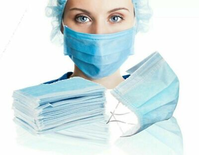 Surgical Face Mask Disposable Dental Dust Flu Virus Face 3 Ply Best Quality