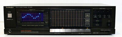Technics Sh-8066 Top Touched Vintage Stereo Equalizer