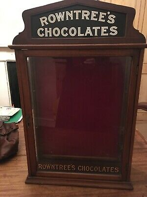 An original Sweet Shop Display Cabinet, Rowntree's Chocolates