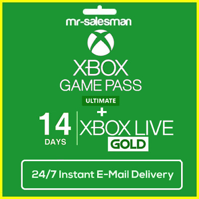 Xbox Game Pass Ultimate 14 Days + Xbox Live Gold Xbox One / PC_Instant Delivery