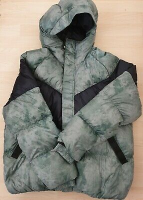 Details about Nike Down Bubble Padded jacket Synthetic Fill Green 2018 19 ZIP POCKETS