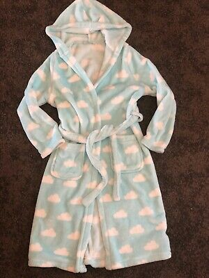 Girls M&S Dressing Gown 9-10 Years