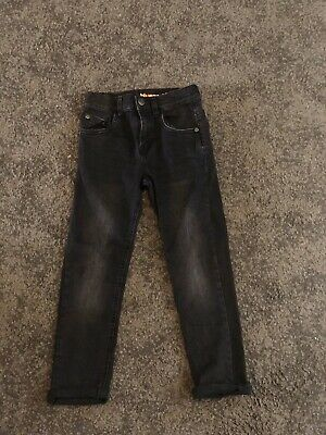 Boys Black Bluezoo Skinny Jeans 7 Years