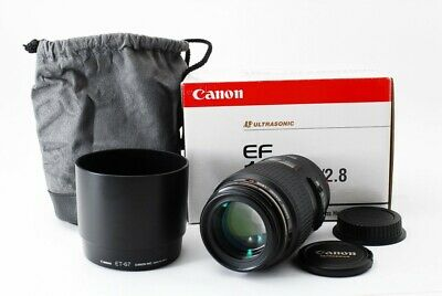 Excellent++ Canon EF 100mm f/2.8 Macro USM AF Lens from Japan