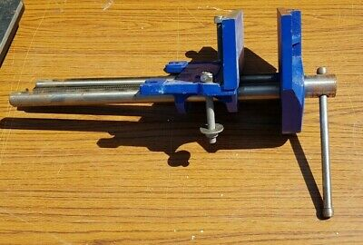"""Irwin Record 52 1/2 13"""" Jaw opening Work Bench Clamp Vice Good Condition"""