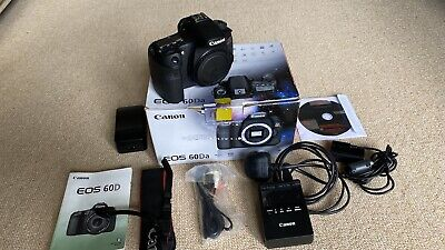 Rare Canon EOS 60Da 18.0MP Astrophotography Digital Camera Low Shutter Near Mint