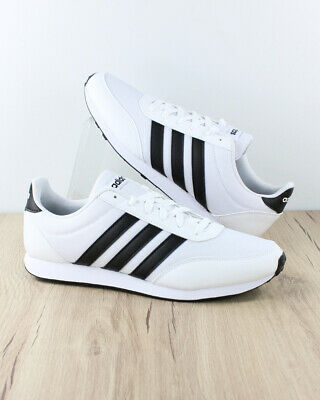 Adidas Chaussures sportif Sport Shoes Sneakers V RACER 2.0 blanc Homme