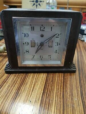 """ Smiths "" Sectric Bakelite clock with alarm and functions"
