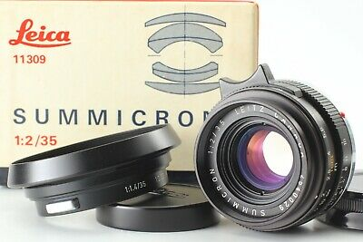 【NEAR MINT Warranty CARD】 Leica Leitz Canada SUMMICRON M 35mm Lens Leica M JAPAN