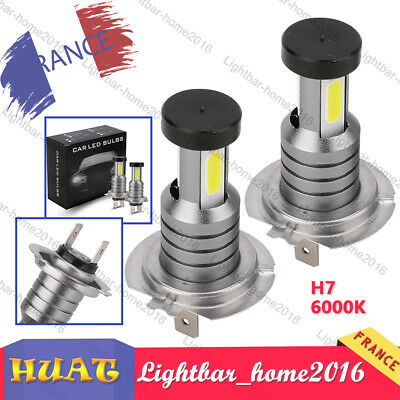 H7 110W 30000LM LED Feux Phare Lampe Ampoules Voiture Kit Xénon Blanc 6000K Neuf