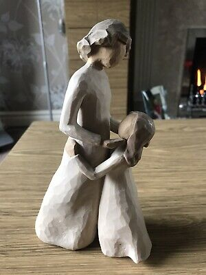 willow tree figurines used Mother & Daughter