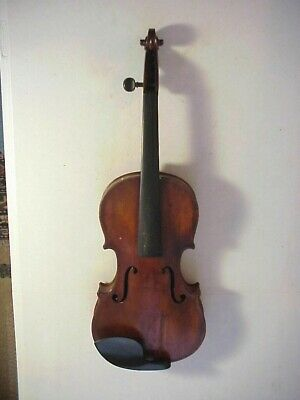 Antique Early 19th Century FRENCH VIOLIN with GRAFTED PEG HEAD #22