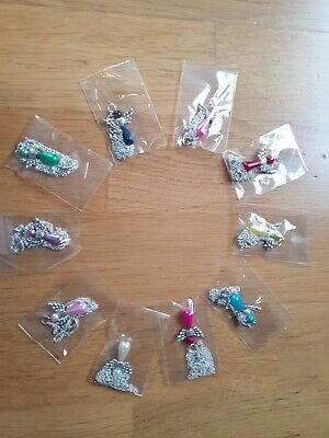 10 angels necklaces pendants lot wholesale gift silver wings