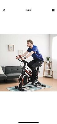 KUOKEL Exercise Bike Home Gym Flywheel Bicycle Cycling Cardio Training Indoor UK
