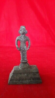 Temple Hindu Diety GodMan Statue Figurine Idol/Sculpture Antique Brass Bronze-29