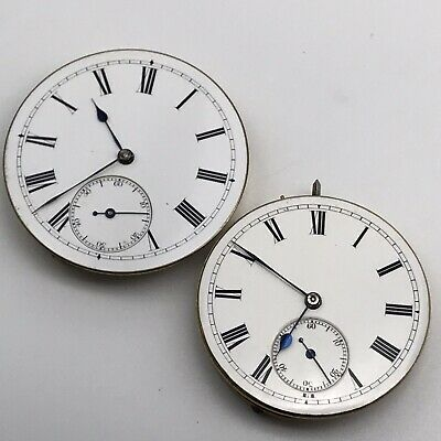 Two Pocket Watch Movements
