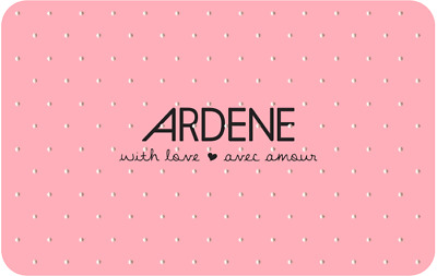 Ardene Gift Card - $20 Mail or Email Delivery