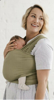 Dried Herb Solly Baby Wrap USED
