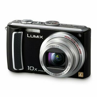 Panasonic LUMIX DMC-TZ5 9.1 MP Digitalkamera 10x Zoom 28 mm Weitwinkel schwarz