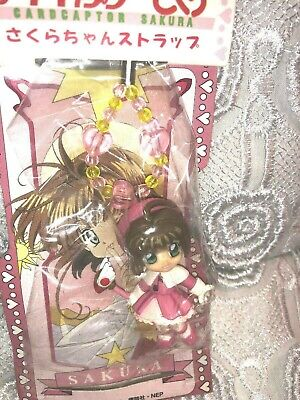 Cardcaptor Sakura Mascot Figure Mobile Strap CLAMP SEGA JAPAN ANIME