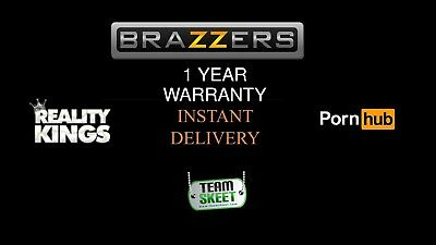 MOST POPULAR SITES + BRAZZERS + 10 Random  | Instant delivery | 6 Months warrant