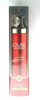 Olay Regenerist Advanced Anti-Ageing 3 Point Day Cream SPF30 - 50ml SEALED