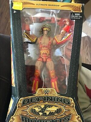 WWE Defining Moments ULTIMATE WARRIOR Elite Action Figure - New