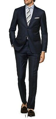 BRAND-NEW SUITSUPPLY 36S ZIGONE ITALIAN SUPER 110'sSURGEON SLEEVES PICK STITCHED