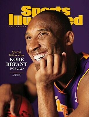 Kobe Bryant Sports Illustrated Magazine Special 2020 Tribute Issue