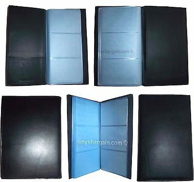 Lot of 4 new 60 to 120 business card case credit card IDs mini photos holder NWT