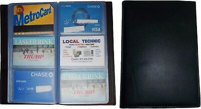 Lot of 5 new 60 to 120 business card case credit card IDs mini photos holder NWT