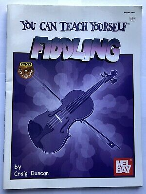 You Can Teach Yourself Fiddling By Craig Duncan With DVD