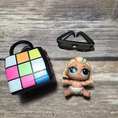 LOL Surprise Doll LIL 80's EIGHTIES BB BABE Little Sis Sister Girl 80s NEON BABY