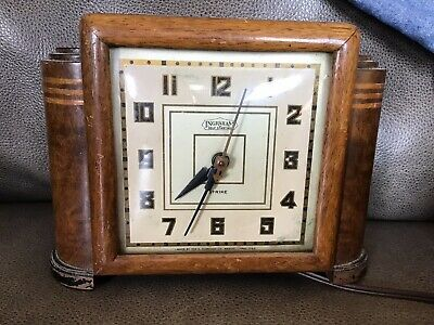 Ingraham Electric Clock Art Deco