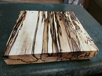 Spalted Hackberry Deluxe Knife Block/Scales/ Calls/ Pen Blanks--H---1