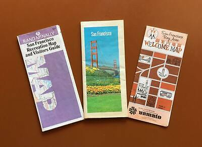 Vintage Maps/Guides for San Francisco in the 1970's
