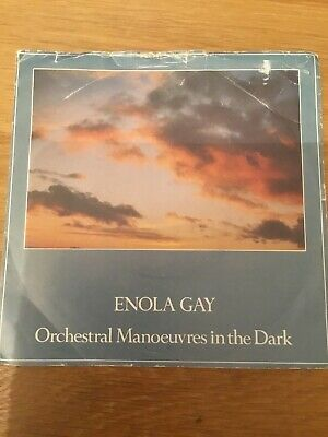 Orchestral Manoeuvres In The Dark - Enola Gay - 1980  Dindisc - Ex