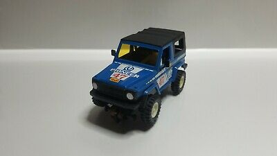 Slot Scalextric Exin STS 4x4 ref.2201 Mercedes 280 GE Azul