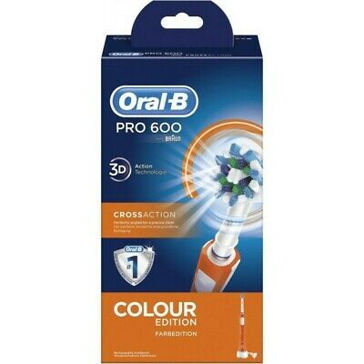 Cepillo Dental ORAL-B PRO600 Cross Naranja