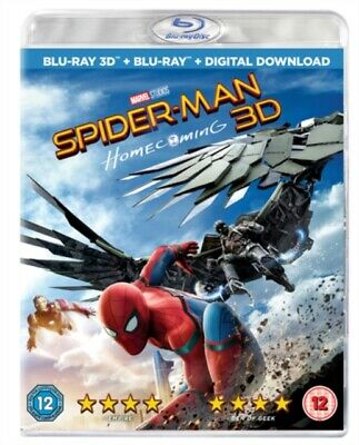 Spider-Man - Homecoming 3D+2D Blu-Ray Neuf